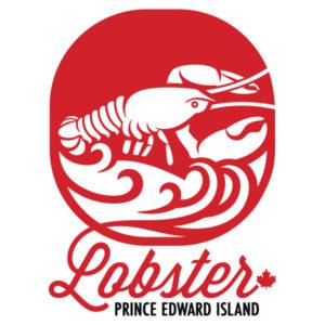 Lobster Prince Edward Island (PEI) Logo